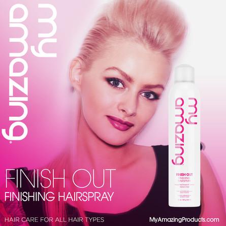 New! My Amazing Finishing Hairspray
