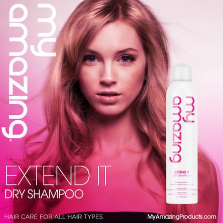 New! My Amazing Dry Shampoo