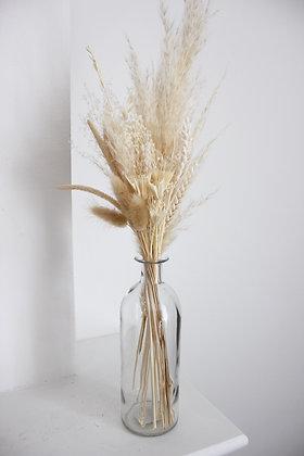 Bouquet Sunny + Vase (transparent)
