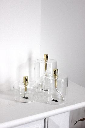 Lampe à huile cylindre(S/M/L)