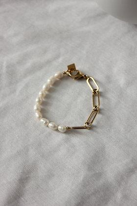 Bracelet mailles NACRE