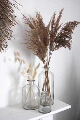 Vase vintage transparent (XS-S-M-L)