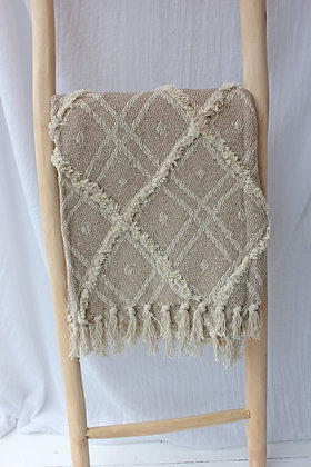 Plaid losange (BEIGE)