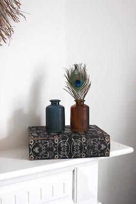 Petit vase GATSBY BLEU