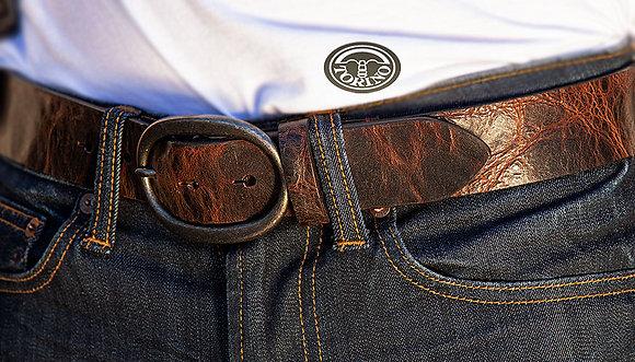 Torino Leather - Shrunken Glove Leather Belt
