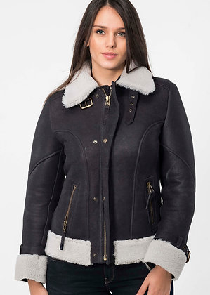 Made for Us! B-3- Shearling Bomber