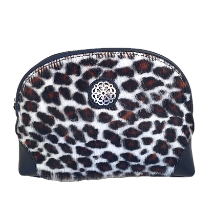 Ferrara Collection by Brighton. Large hair-on cross body pouch
