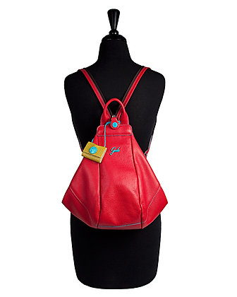 Gabs - The Greta Ruga Leather Backpack Small