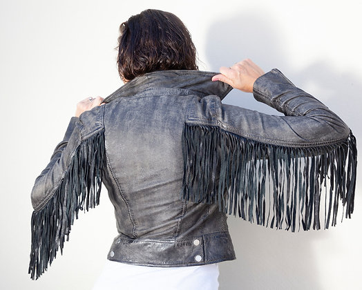 Mauritius - The Zoe Women's Fringed Moto