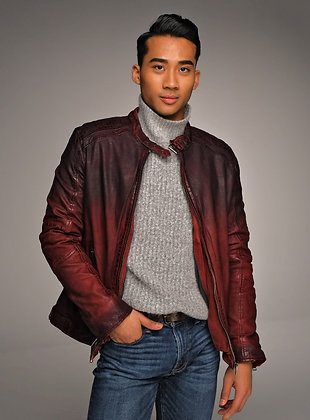 Mauritius - The Vincente Mens' Lambskin Jacket