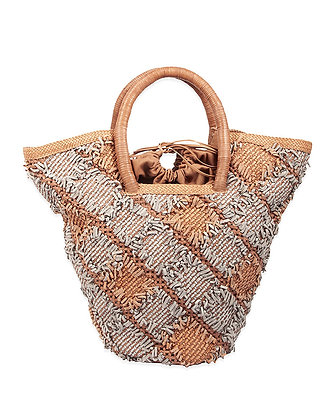 Paolo Masi - Woven Handle Large Tote