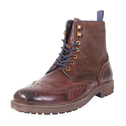 Testosterone - The Cash In Wing Tip Laced Boot