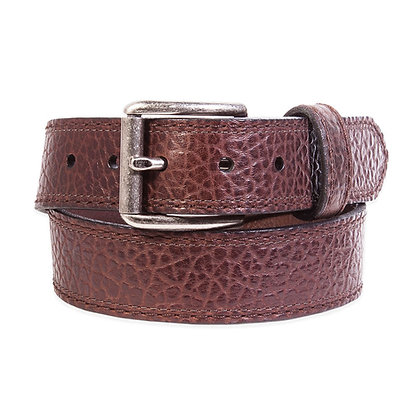 Lejon -  Brown Bison with Roller Buckle