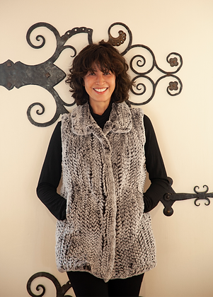 Chosen Furs - Rex Fur Knitted Vest