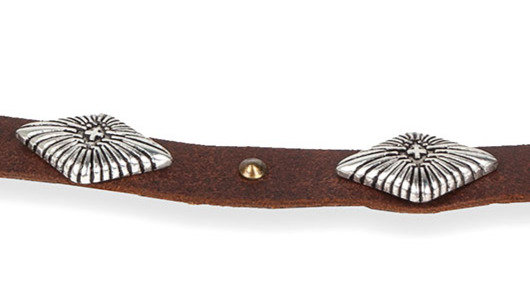 American Hat Makers - The Cross Concho Hatband