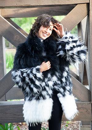 Chosen Fur - Dyed Raccoon Stroller