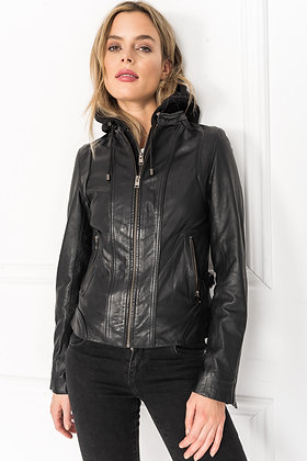 La Marque -The Arlette in XXL Lamb with Removable Hoodie