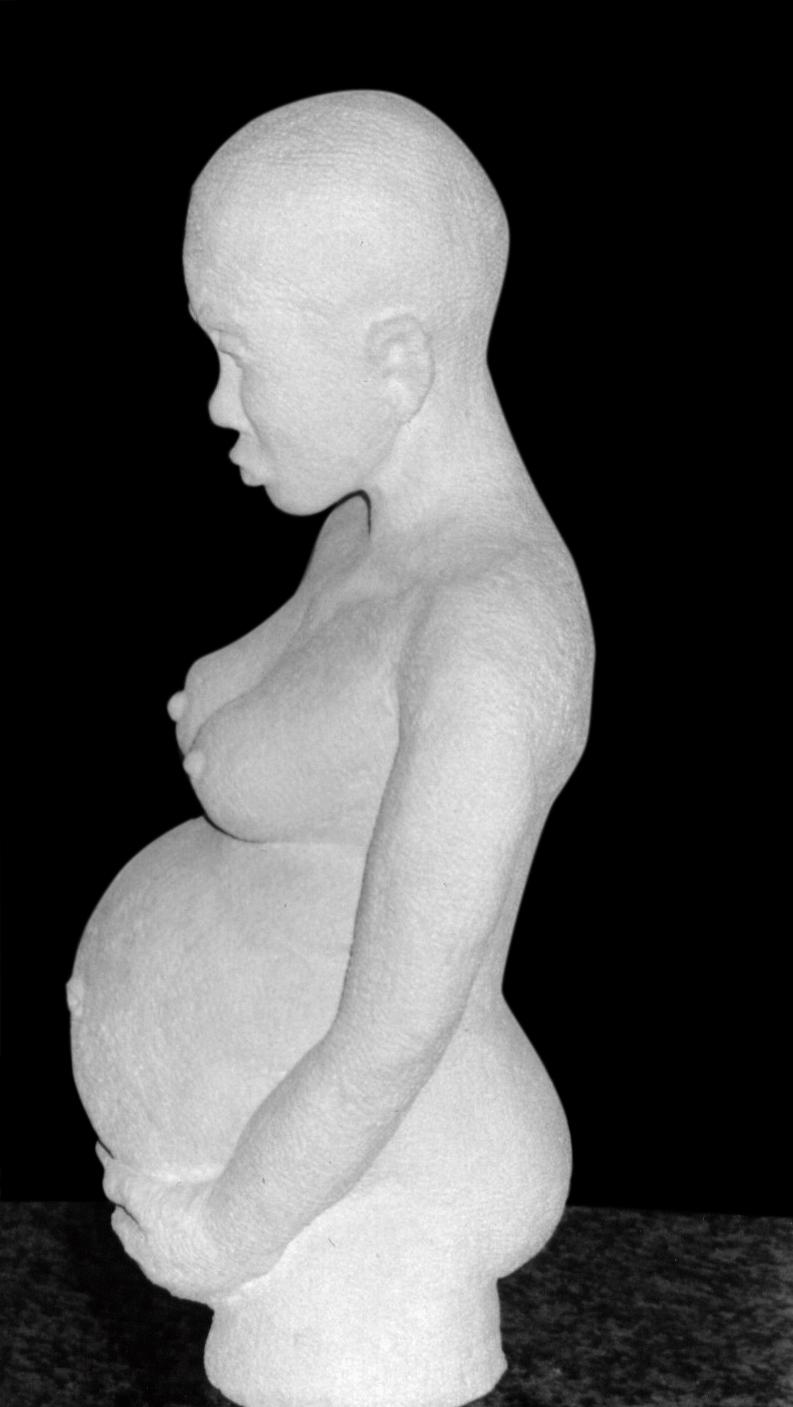 Femme enceinte (Oeuvre n°122)