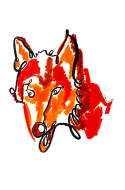 Le loup (oeuvre n°60)