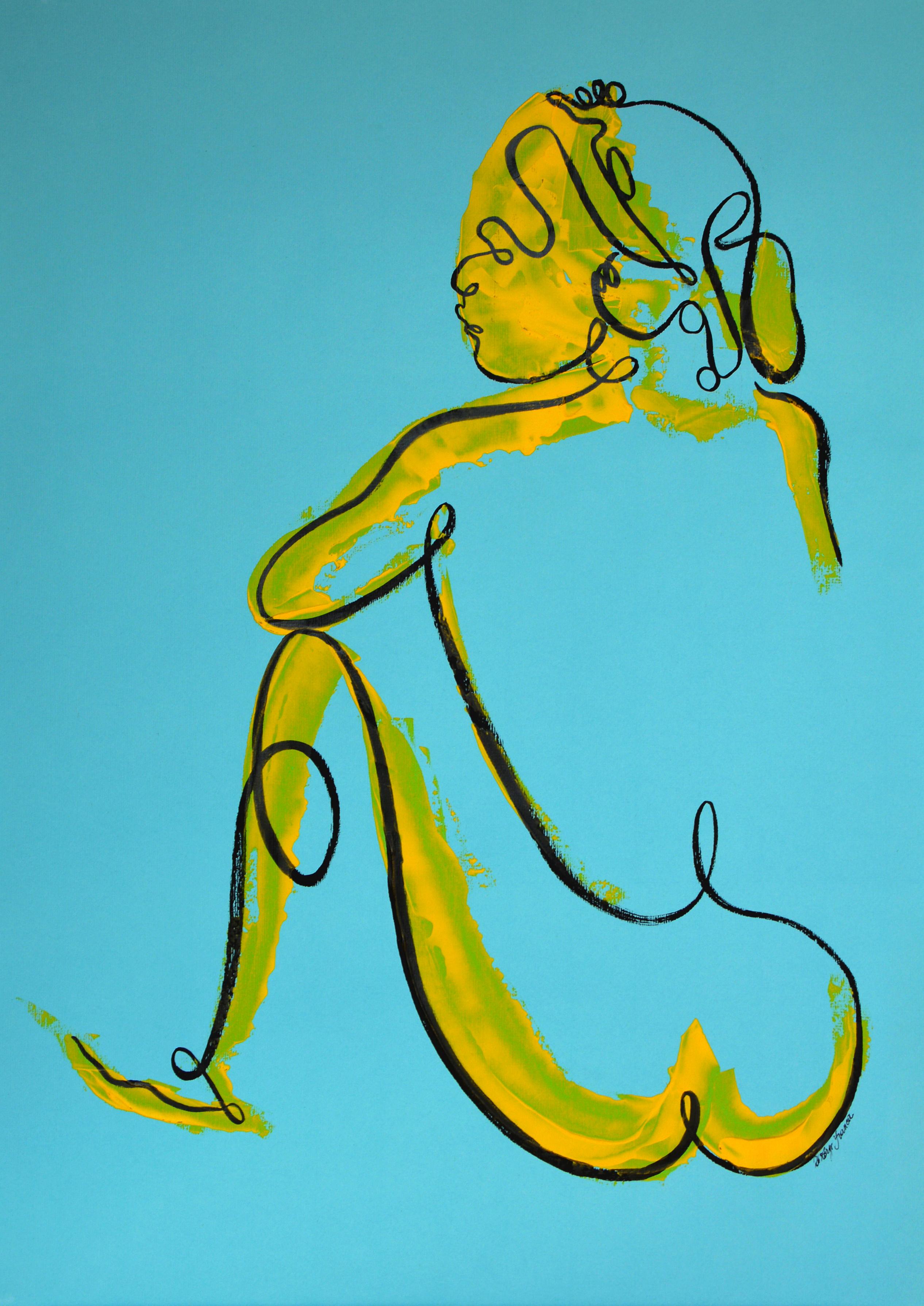 Femme de dos (oeuvre n°83)