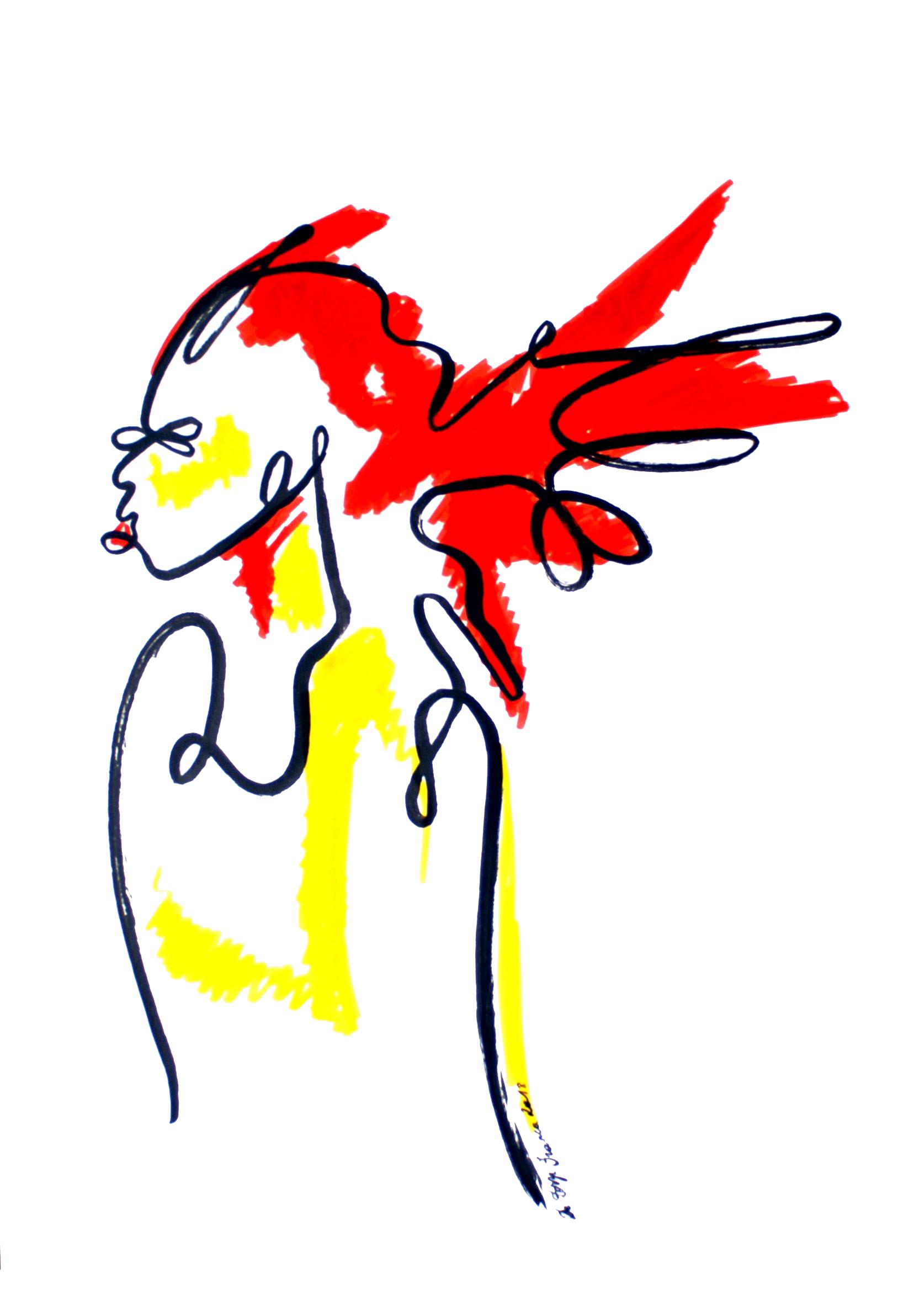 Femme à la chevelure (oeuvre n°64)