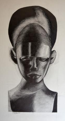 Princesse africaine (Oeuvre n°106)
