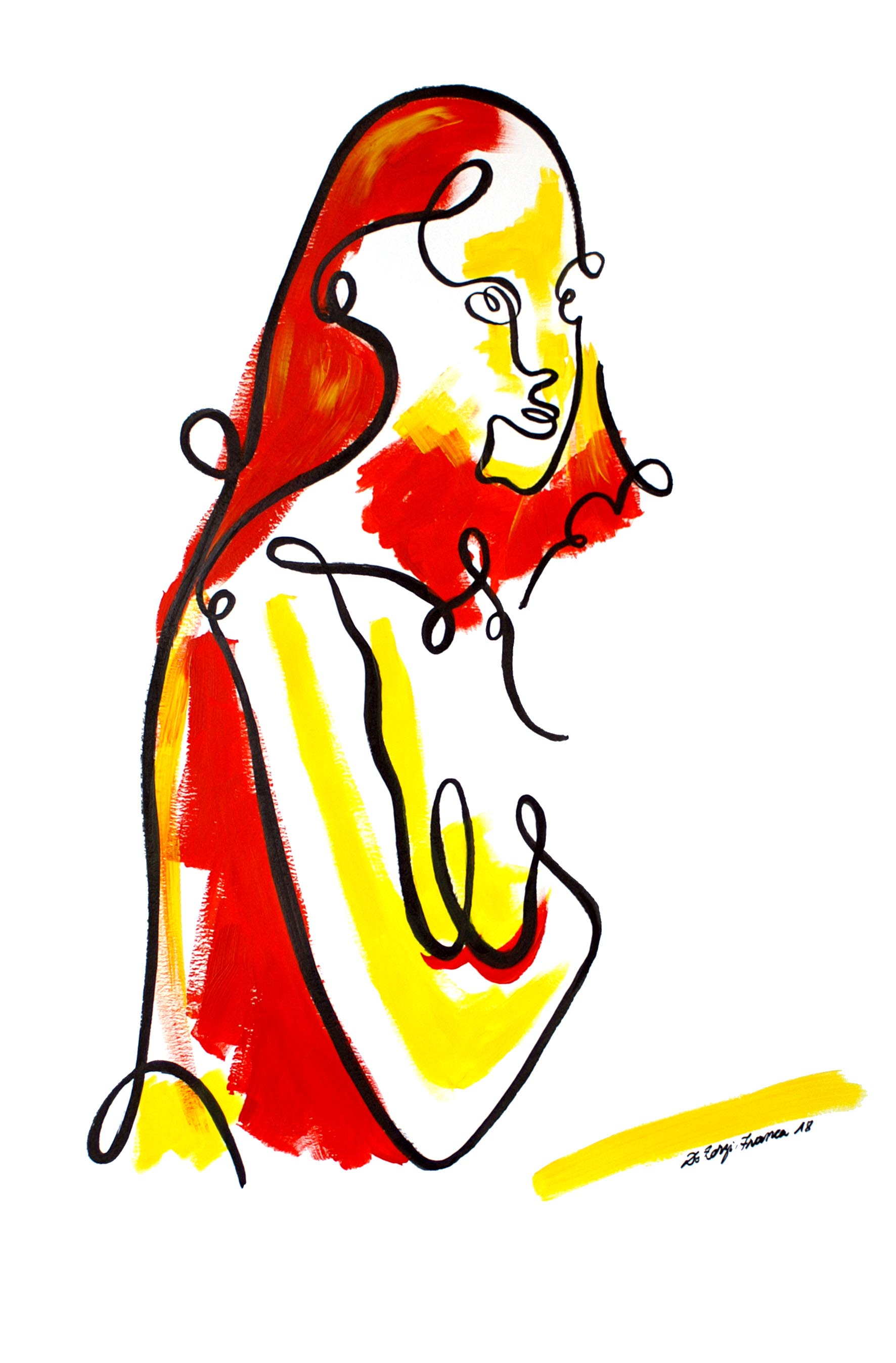 Portrait de femme (oeuvre n°59)