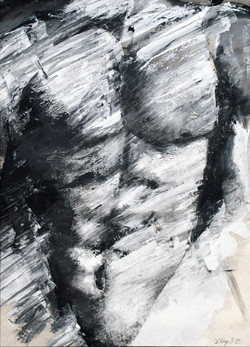 Buste d'homme (Oeuvre n°102)