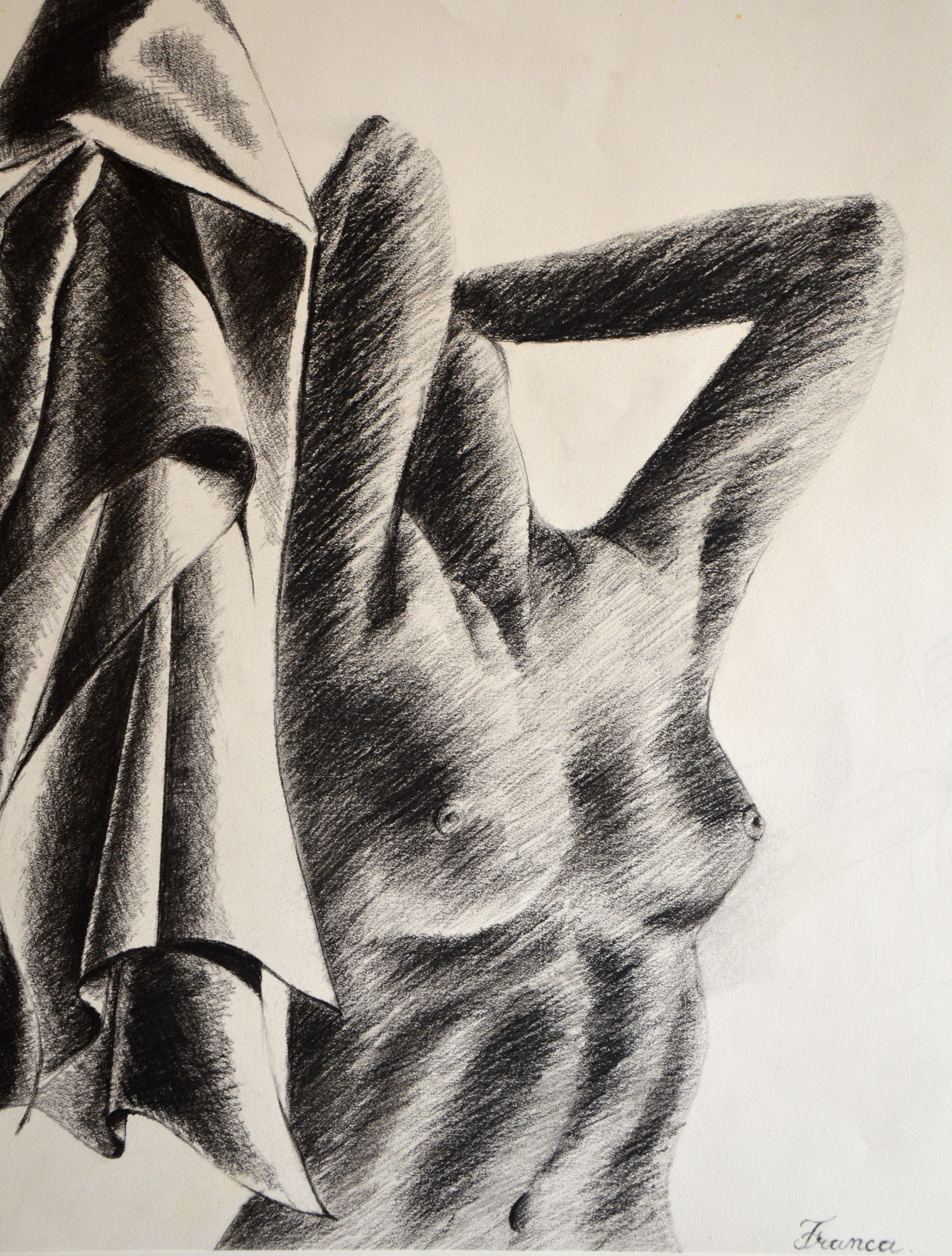 Buste de femme n°1 (Oeuvre n°117)