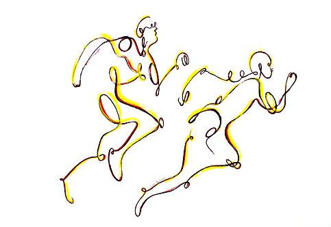 Les coureurs