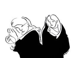 Femmes voilées (oeuvre n°4)