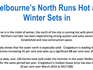 Melbourne's North Runs Hot as Winter Sets in