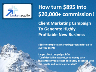 How to turn $895 into $20,000 plus commission!