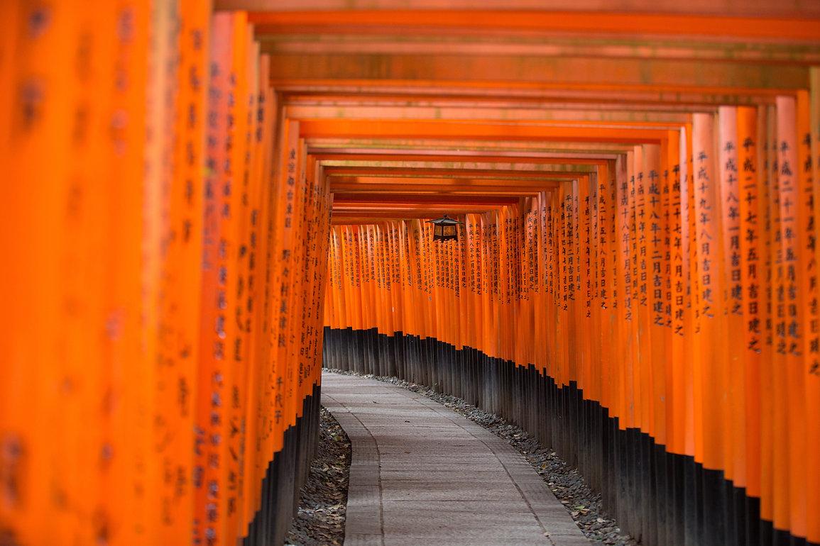Porte traditionnelle japonaise