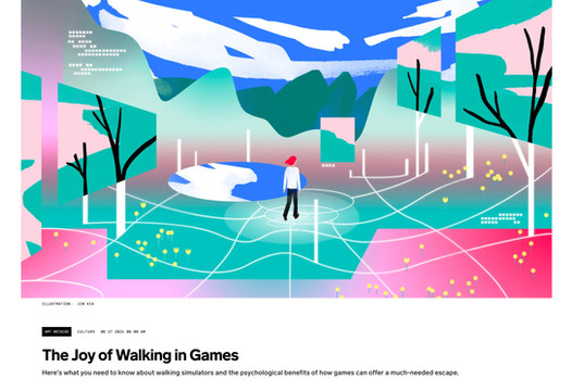 WIRED: The Joy of Walking in Games