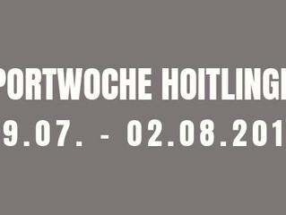 Fußball, Bier und Bratwurst - die Sportwoche 2019 in Hoitlingen