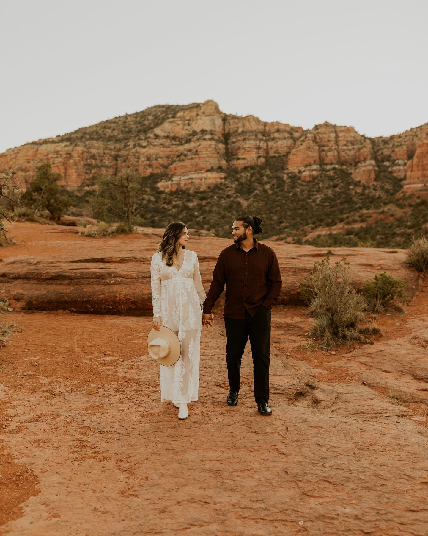 Sedona engagement pictures