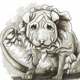 Droopy Plant/Dog Hybrid