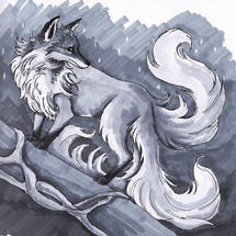 Three Tailed Fox
