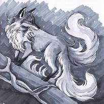 Three Tailed Fox