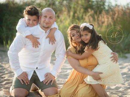 Familjebilder utomhus