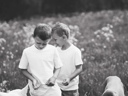 Syskonlek och kärlek + lite fotografering