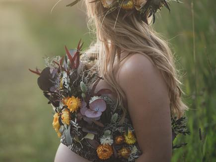 Underbar tid för gravidfotografering