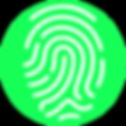 Fingerprint green circle.png