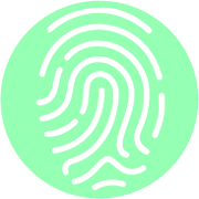 Fingerprint green circle.png