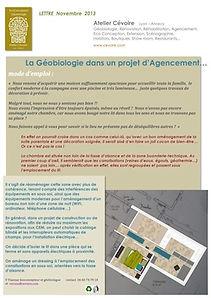 Géobiologie de l'habitat Lyon Expertises