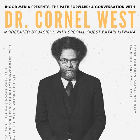 A Conversation with Dr. Cornel West