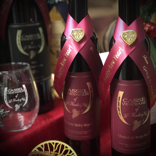 Wine Collar Bottle Wraps--Bundle