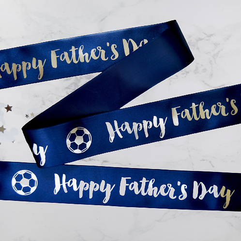 """Father's Day Ribbon - 1"""", 1 3/4"""" & 4"""""""