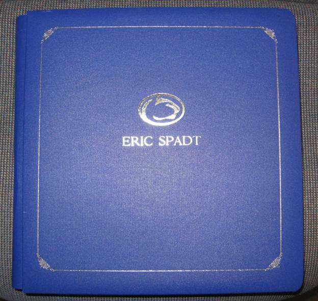 Penn State Logo with Hotstamped Custom Scrapbook - Treasured Touch
